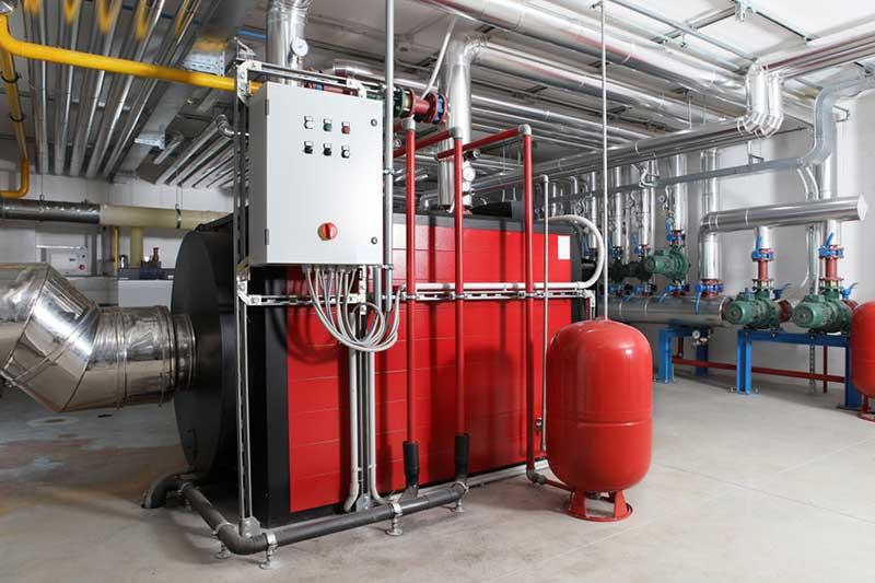 Installation chaufferie industrielle Tain L'Hermitage