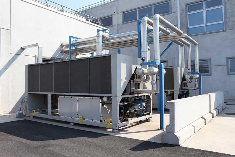 Installation pompe à chaleur pour secteur industriel Tain L'Hermitage